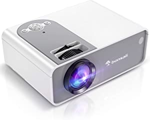 Outdoor Movie Projector, LED Mini Projector 1080P and 200
