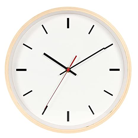 Cm Reloj Madera 30 Pared Tosbess Vintage De hdxtrCsQ