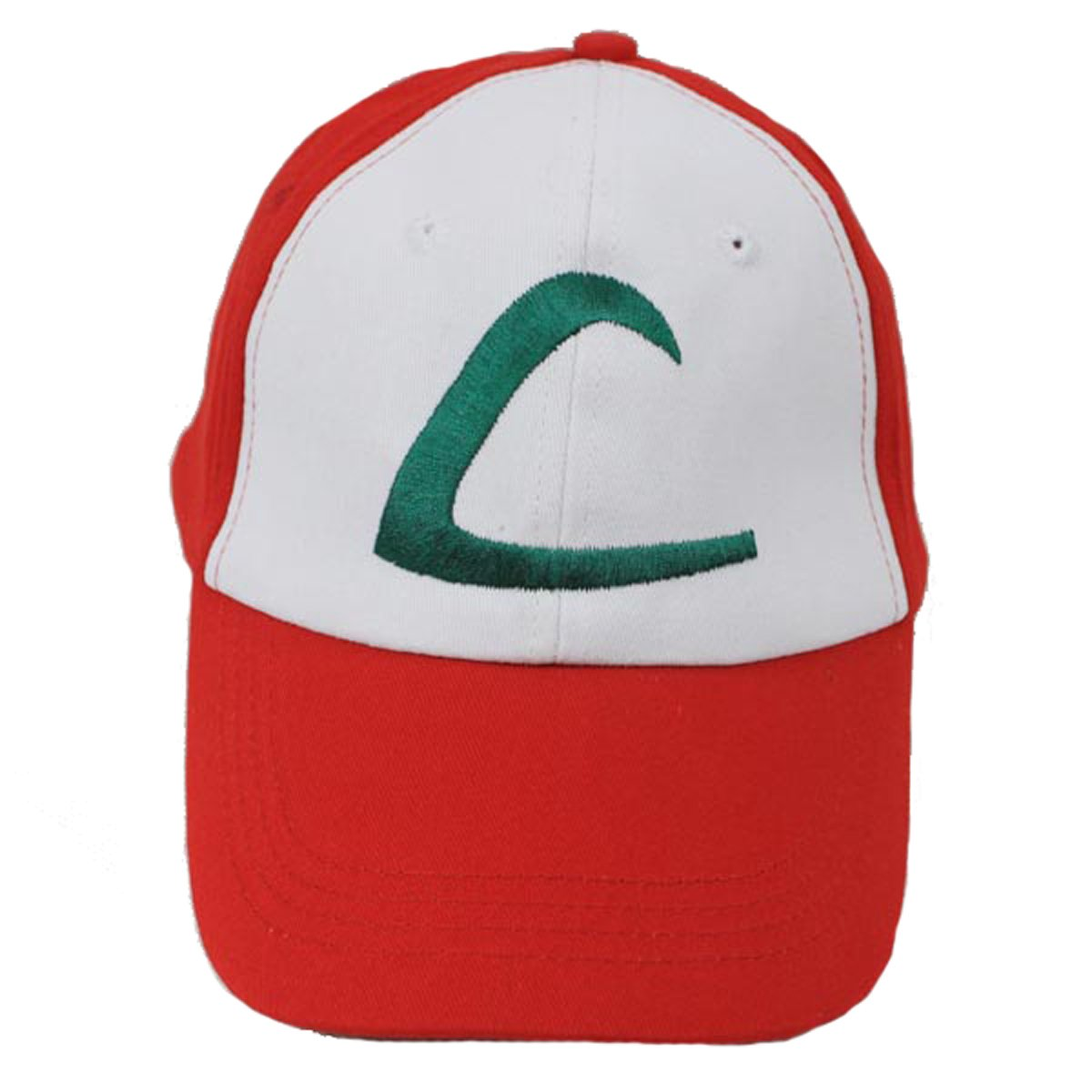 Pokemon Ash Ketchum Trainer Costume Cosplay Baseball Hat Cap Summber