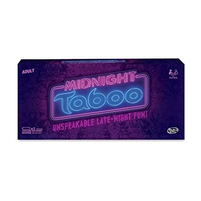 Hasbro Midnight Taboo Game: Toys & Games