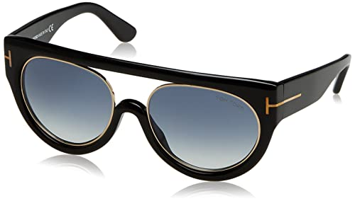 8a482462c8 Image Unavailable. Image not available for. Colour  Tom Ford Alana FT0360  01B Sunglasses ...