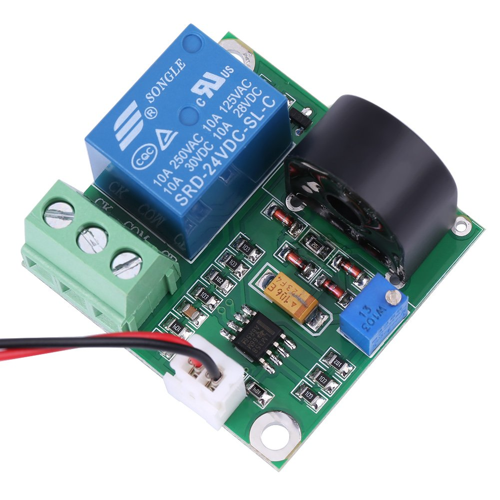 AC Current Detection Module 0-10A Switch On-off Output Current Sensor Module by Walfront (Image #7)