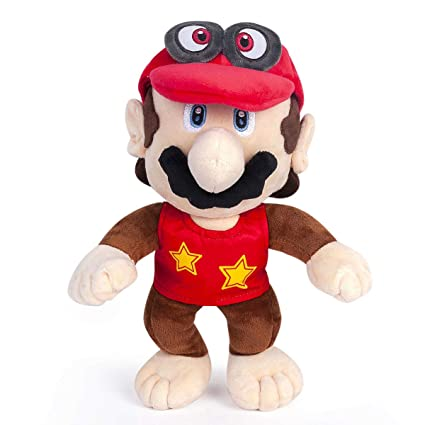 Yijinbo Super Mario Odyssey Cappy Diddy Kong Mario Plush Toy