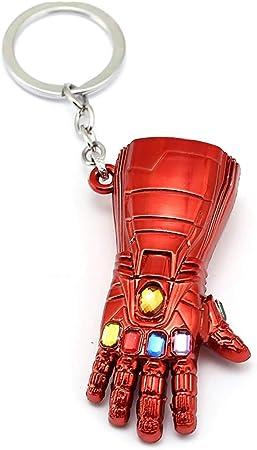 The Avengers Endgame Iron Man Infinite Gauntlet Tony Stark Gloves Keychain