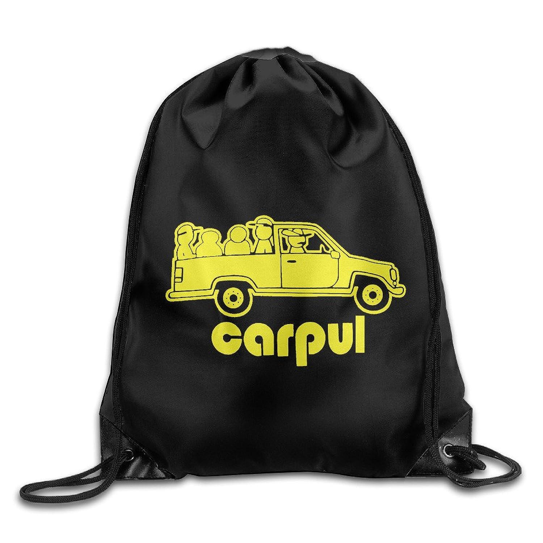 Carpul CarpoolメンズMexican Chicano Hispanic Latinoドローストリングバックパックバッグホワイト B01INHGHN0  ホワイト One Size