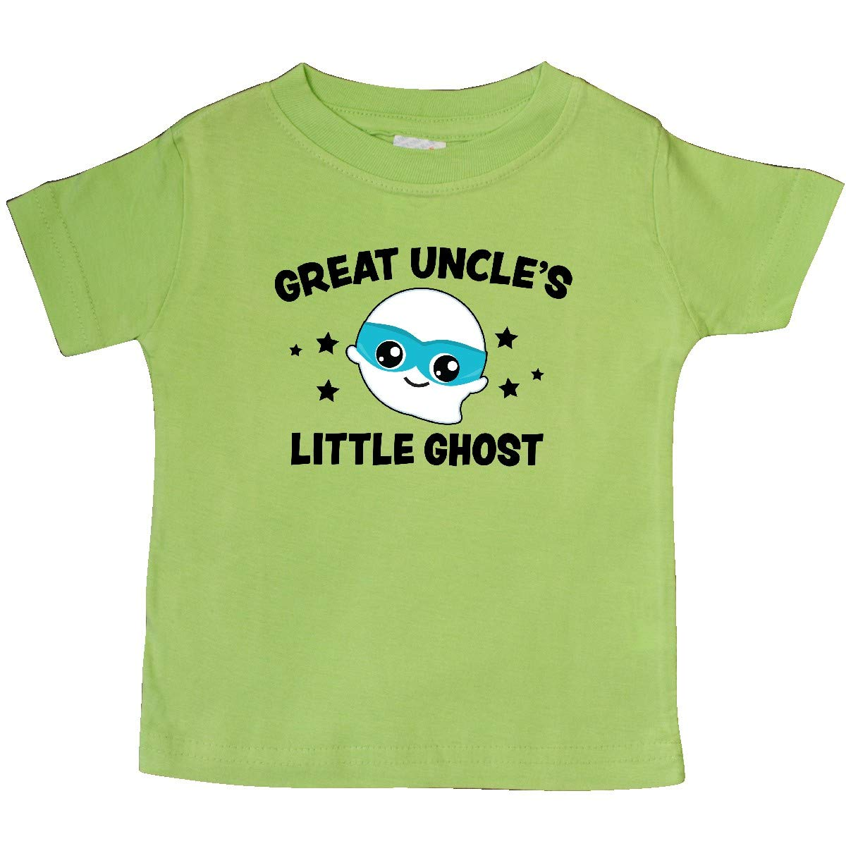 inktastic Cute Great Uncles Little Ghost with Stars Baby T-Shirt