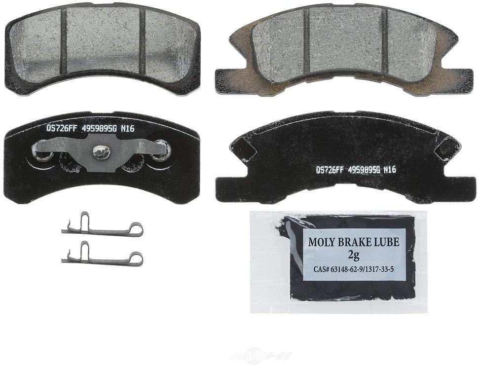 Rear Metallic Brake Pads /& Brake shoes 2Set Fits Mitsubishi Lancer 2008 Front