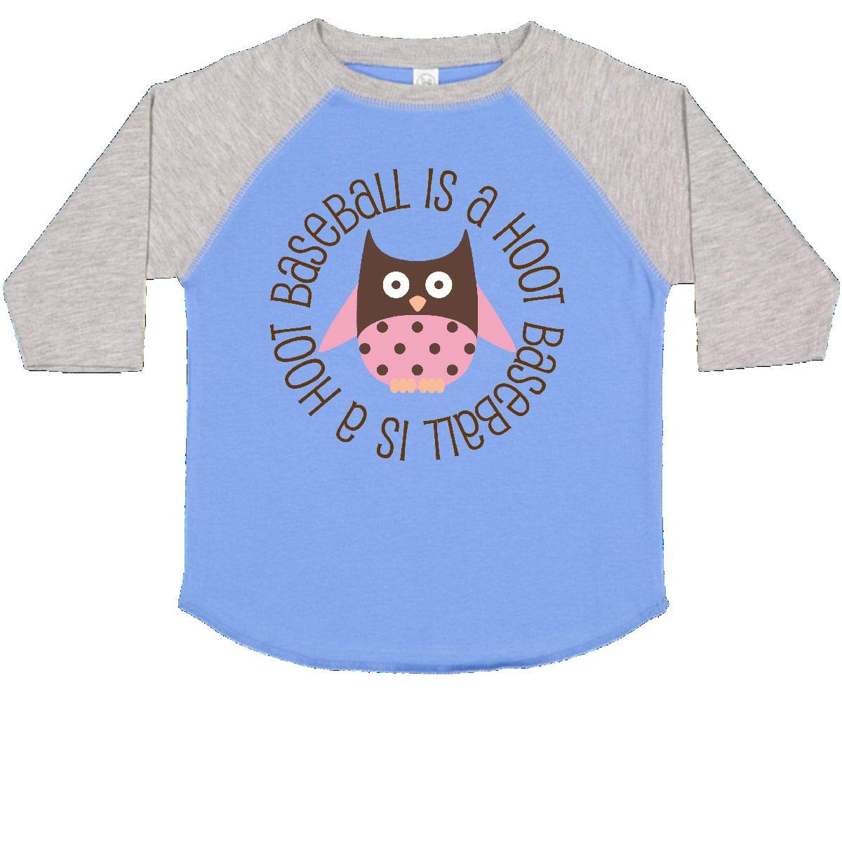inktastic Baseball is a Hoot Sports Toddler T-Shirt
