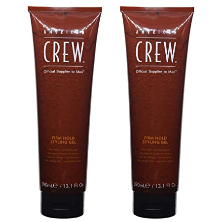 American Crew Firm Hold Styling Gel, 13.1 Fluid Ounce Pack of 2