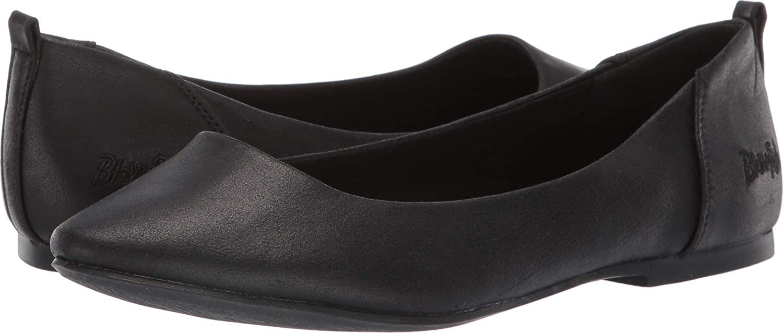 August Jim Womens Basic Round Toe Ballet Flats Comfort Slip On Fashion Dress Shoes