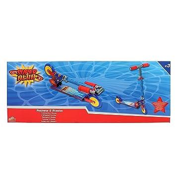 Muñecas Saica Patinete Super Hero 2 Ruedas: Amazon.es ...