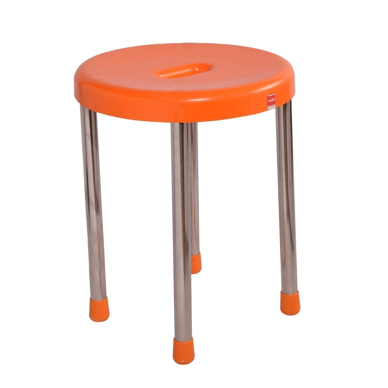 Cello Eva Stool Orange Amazon Home & Kitchen