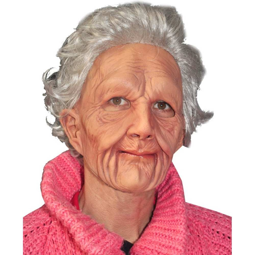 Zagone Studios Mens Supersoft Old Woman Mask product image