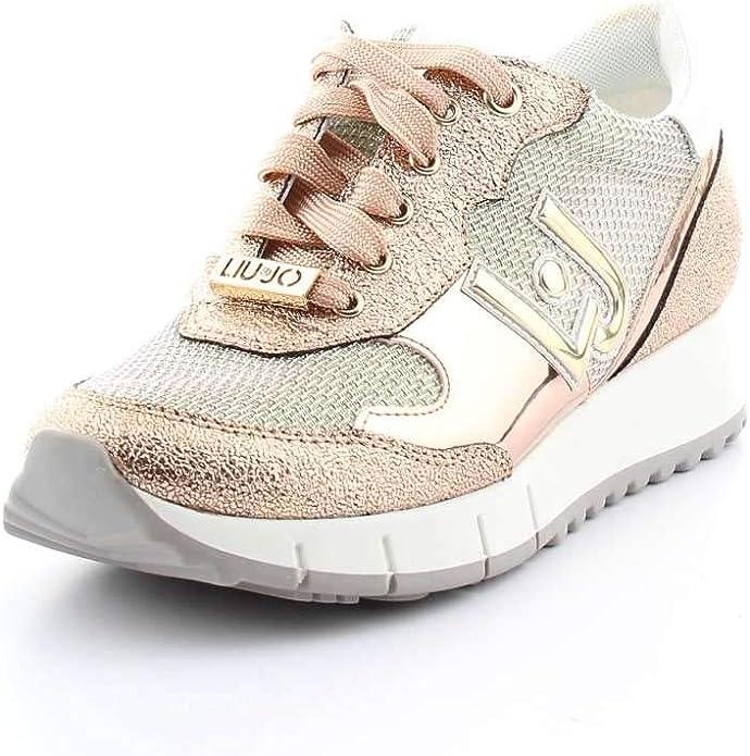 Scarpa Donna Liu Jo Sneakers Linda Mint 118 41: Amazon.it
