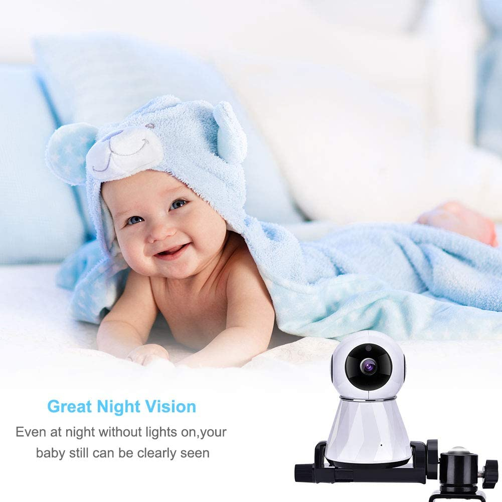 jskjlkl2019 Baby Monitor Mount 360 Degrees Rotatable Stable Camera Mount Bracket Stabilizer