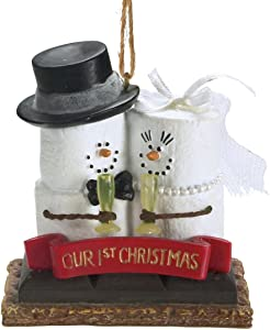 Midwest-CBK S'Mores 'Our 1st Christmas' Resin Christmas Ornament