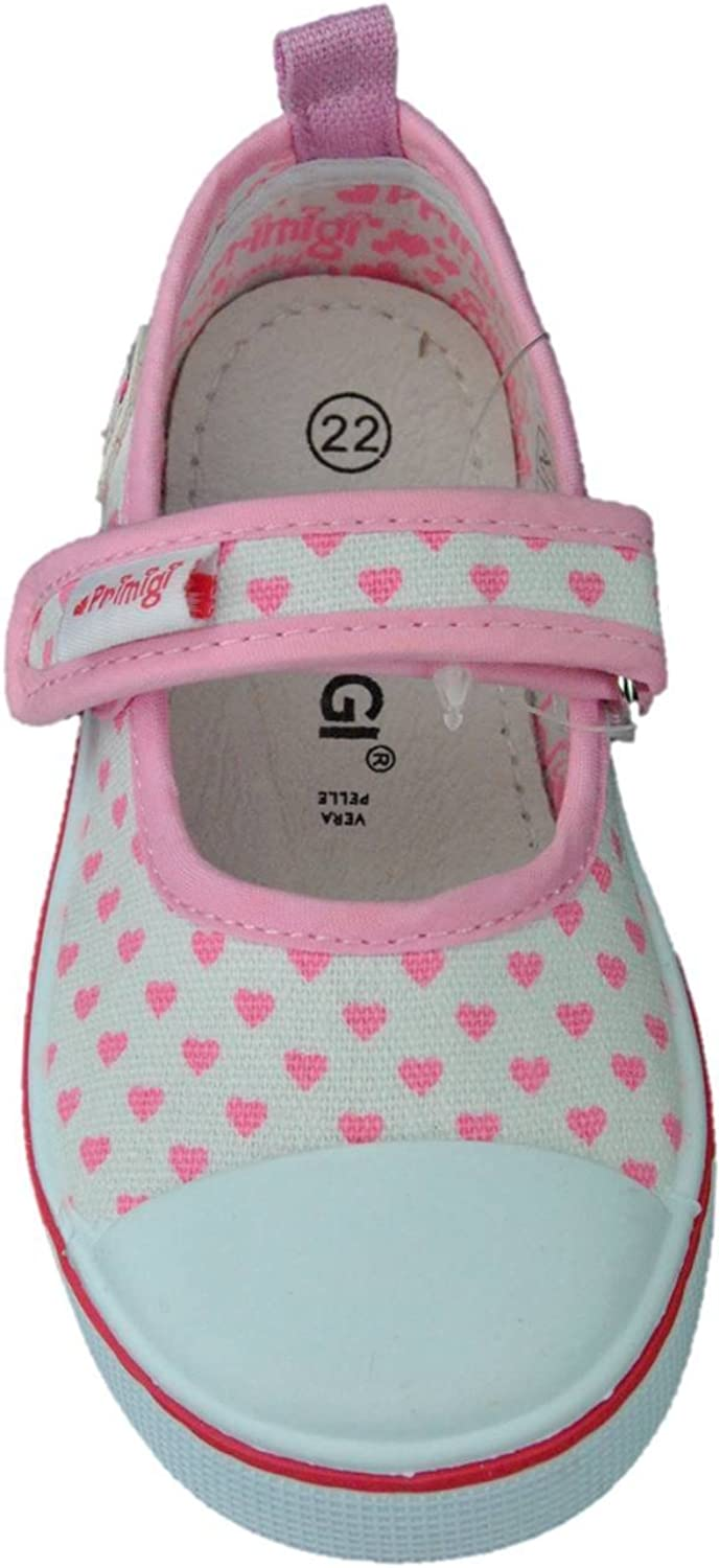 PRIMIGI 1445422 Ballerinas Shoes First Steps Child Fabric Made in Italy