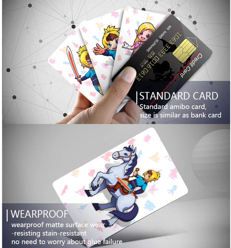 Flight Tracker 22pcs Set Nfc Cards The Legend Of Zelda Breath Of The Wild Wolf Link For Amiibo Access Control Cards