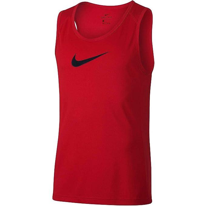 Nike M Nk Dry Top SL Crossover BB - Tank de Baloncesto Hombre