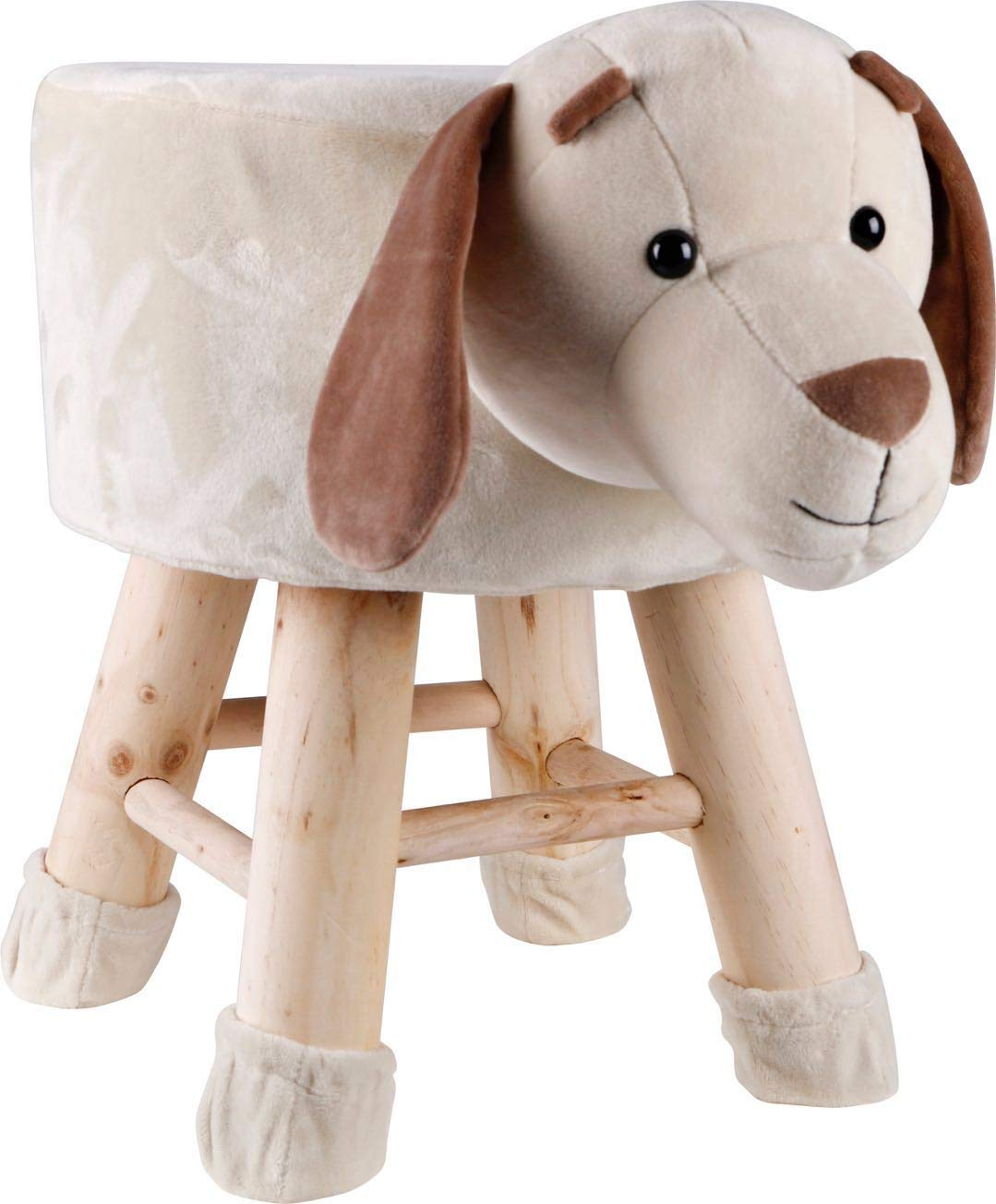 NOVELTY ANIMAL SHAPED ROUND WOOD FOOT STOOL HOME FURNITURE BEDROOM PLAY ROOM