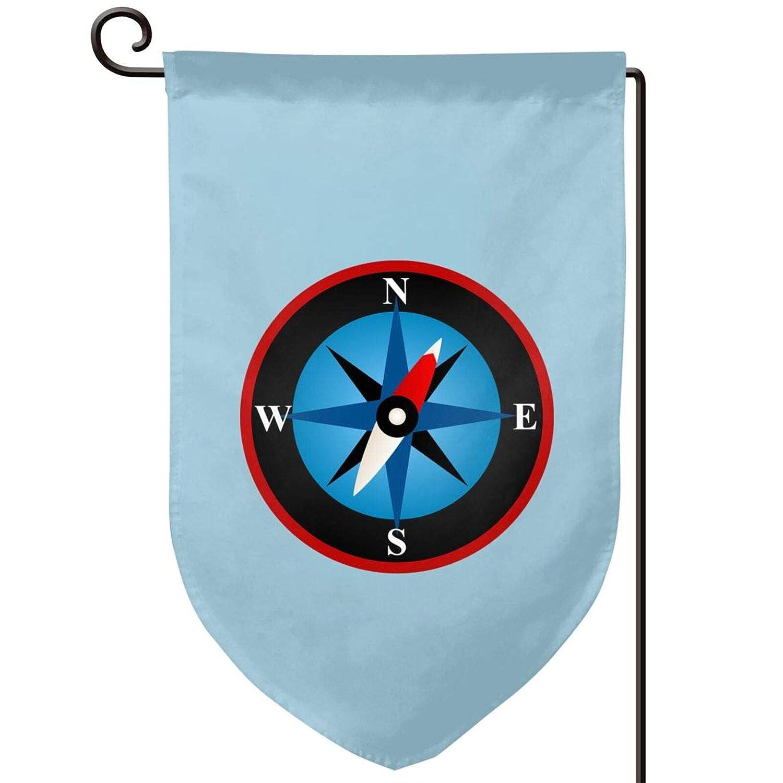 Compass Rose Garden Flag, 12.5