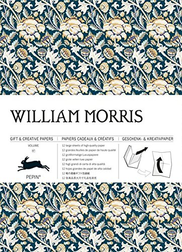 Gift Wrap Book Vol. 67 - William Morris (Gift & Creative Paper Books) (English, Spanish, French and German Edition)