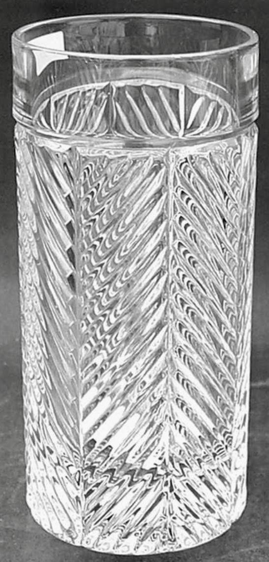 Ralph Lauren Herringbone Highball Crystal Glass Set of 4 by Ralph Lauren (Image #3)