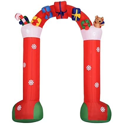 Amazon.com: USA_BEST_SELLER - Figura decorativa de Navidad ...