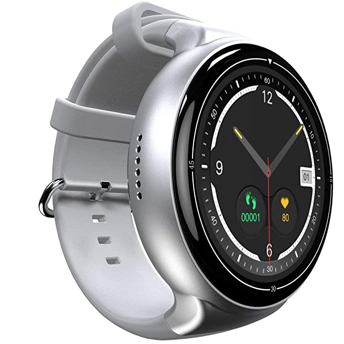 I4 Android 5.1 OS Monitor de Ritmo cardíaco Smart Watch 3G ...