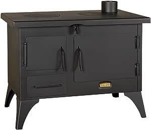 Cocina a leña de Garden; chimenea, horno, capota, 5 kw: Amazon.es ...