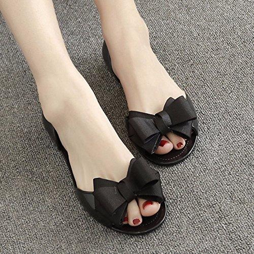 XIAOGEGE scarpe donna XIAOGEGE Moda Moda Nero 4w5pq5xfC6