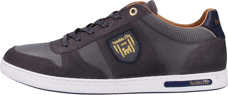 Pantofola d'Oro Milito Uomo Low voor heren Lage Top Sneakers Grijze donkere schaduw 7zw YTDVLV33