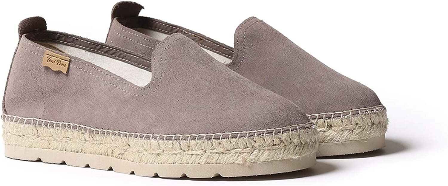 Espadrille for Woman Made in Suede. Toni Pons AUREM