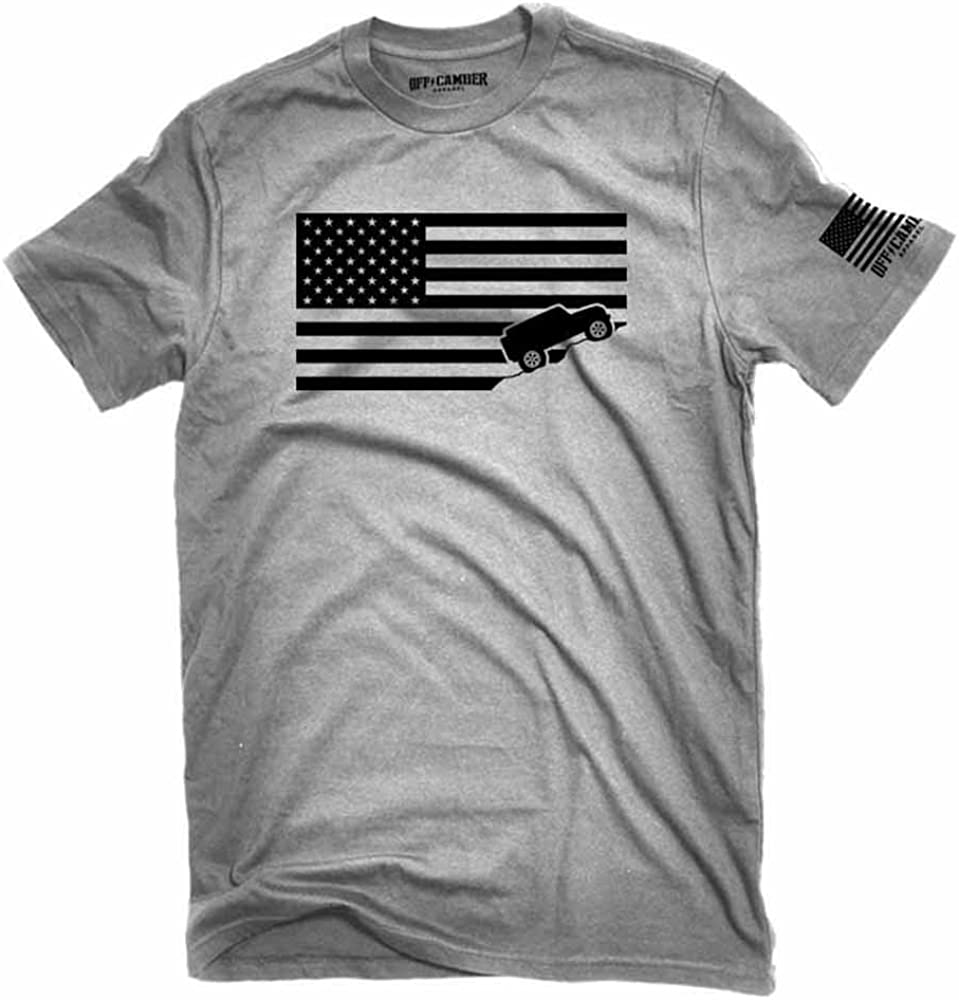 t shirt with american flag