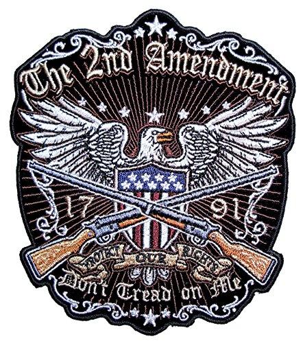 Leather Supreme Patriotic American Eagle The 2nd Amendment B
