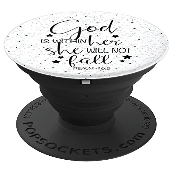 God Is Within Her She Will Not Fall - Uplifting Bible Verse - PopSockets Ideas For Kitchen Shelf Ckets on tv for kitchen ideas, shelf bar ideas, shelf garage ideas, hutch for kitchen ideas, storage for kitchen ideas, shelf garden ideas, lighting for kitchen ideas, countertop for kitchen ideas, shelf decorating ideas, wall for kitchen ideas, cabinets for kitchen ideas,