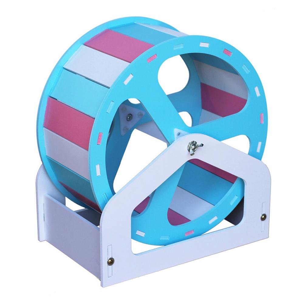 midsummer Pet Exercise Wheel Pet Comfort Exercise Wheel Easy Attach to Cage for Hamsters Gerbils Chinchillas Hedgehogs Mice and Other Small Animals