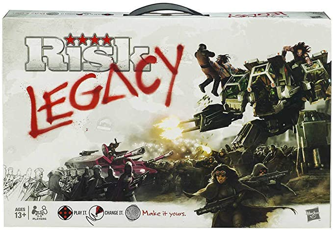 Risk Legacy - Juego de Mesa (en inglés): Amazon.es: Juguetes y juegos