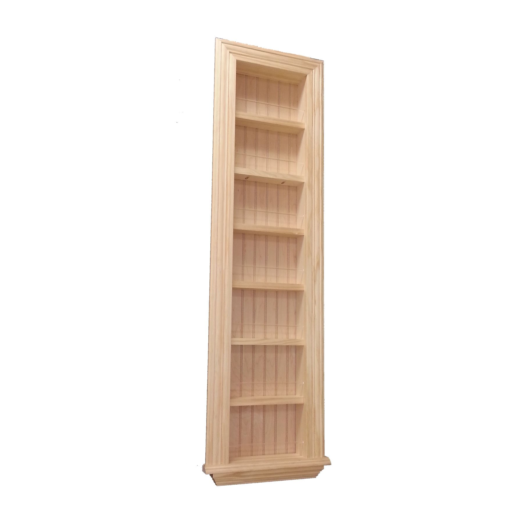 Wood Cabinets Direct 48 Inch Kane Traditional Frame in The Wall Spice Rack, 18 X 3.5 by Wood Cabinets Direct