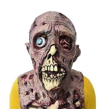 ZHCS Halloween Mascaras Disfraz Terror látex Fiesta,Zombi Diablo ...