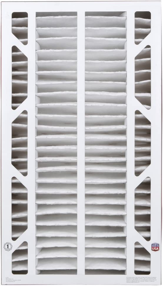 """BestAir A401-SG4-BOX11R Air Cleaning Furnace Filter with Cardboard Frame, MERV 11, For Aprilaire/SpaceGard 2400 (401) & Lennox PMAC-12C 27"""", 16"""" x 27"""" x 6"""", 2 Pack"""