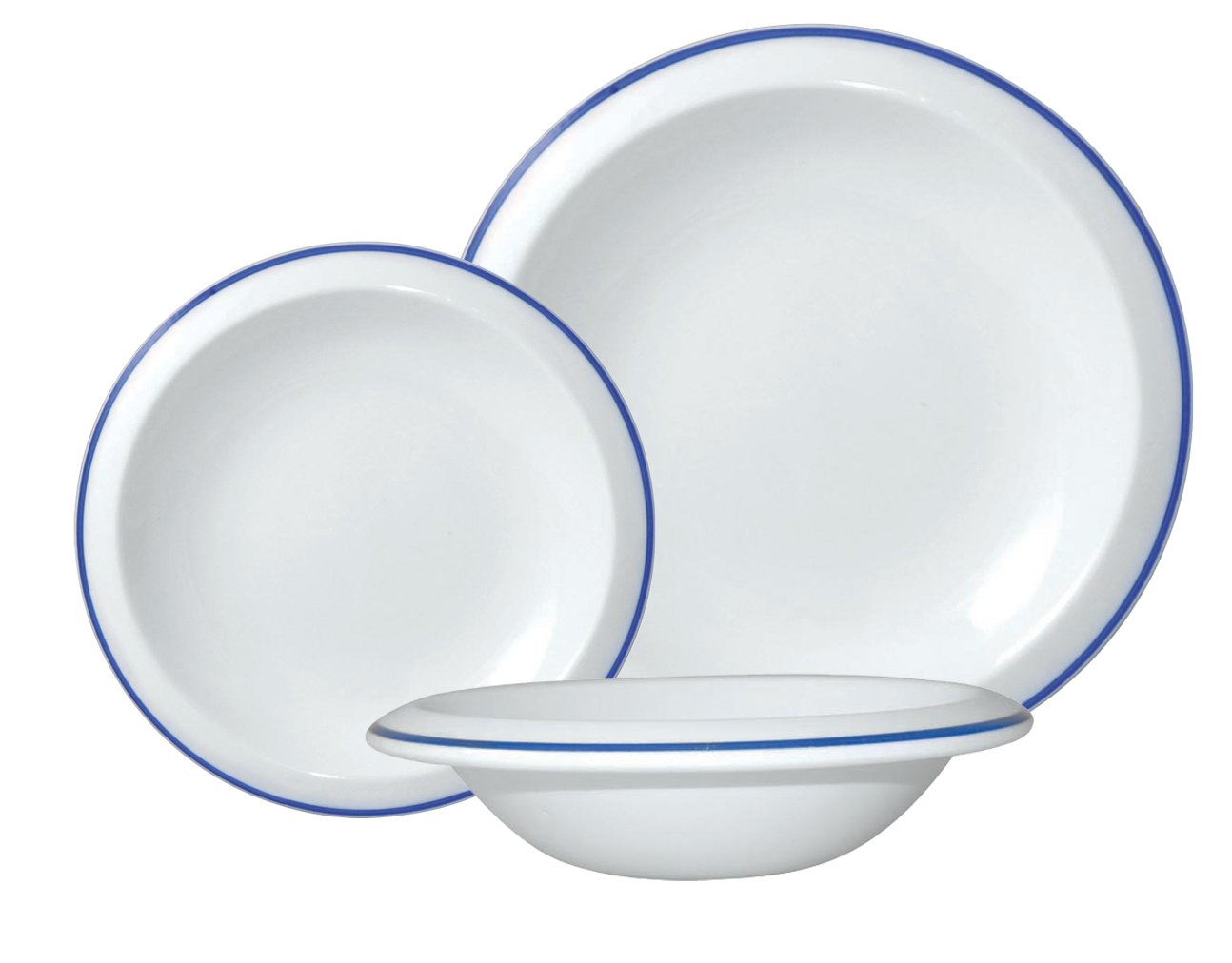 Amazon.com | Jamie Oliver Keeping It Simple 12-Piece Dinnerware Set Blue Dinnerware Sets  sc 1 st  Amazon.com & Amazon.com | Jamie Oliver Keeping It Simple 12-Piece Dinnerware Set ...