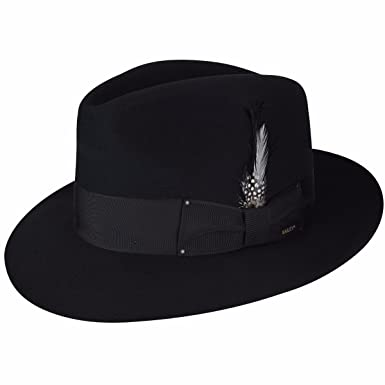 6510629e Bailey Of Hollywood Men Gangster Fedora at Amazon Men's Clothing store: