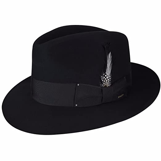 Bailey of Hollywood Men Gangster Fedora at Amazon Men s Clothing store  1cb17a3299d