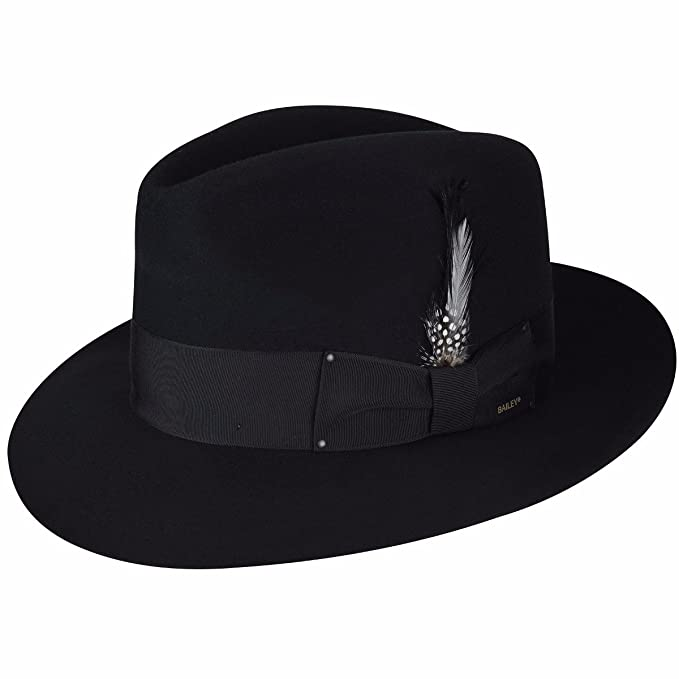 5b78d8b1a7b Bailey of Hollywood Men Gangster Fedora at Amazon Men s Clothing store