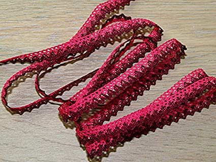 Rayon Braid Trim Pink per metre