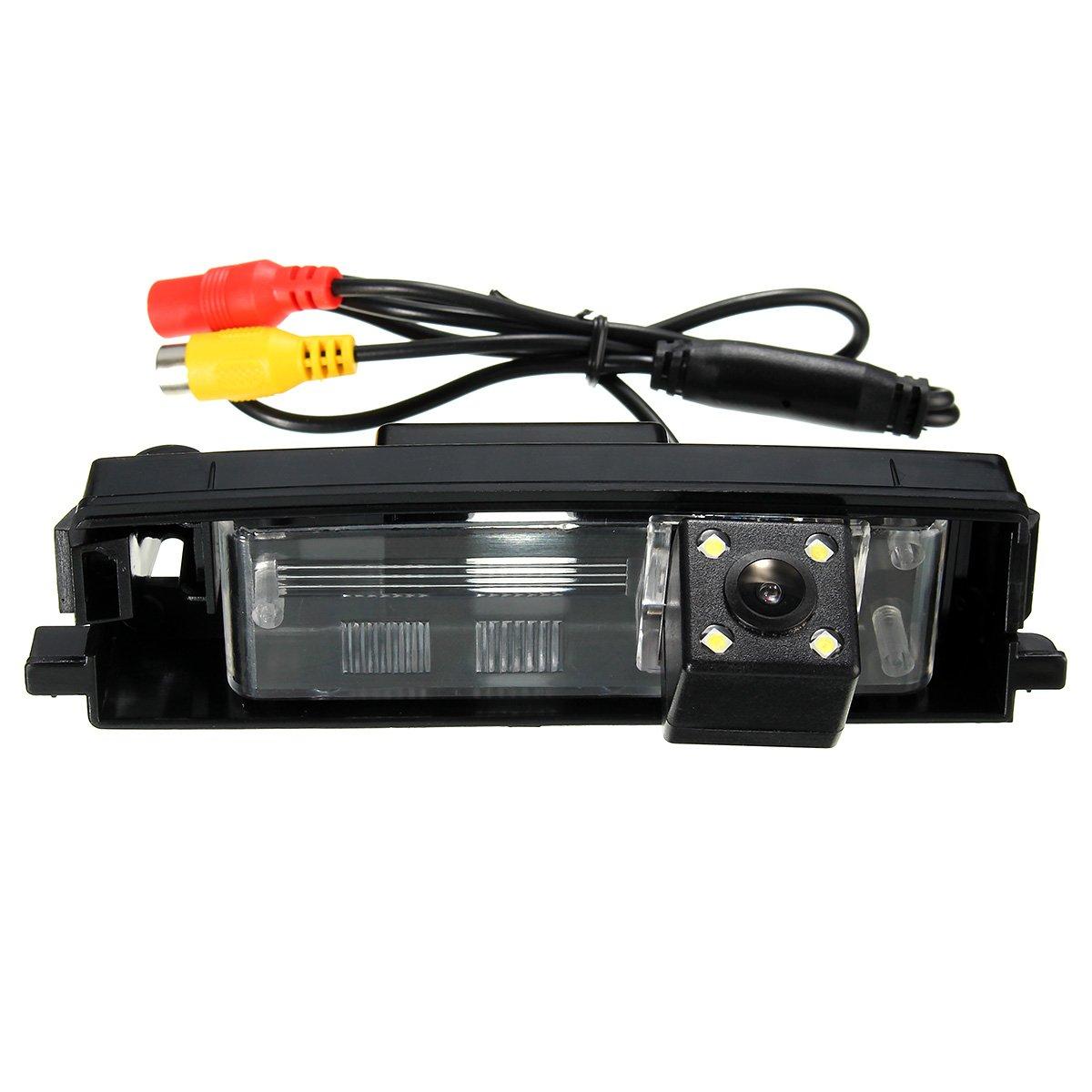 GOZAR Camé ra De Recul De Voiture De Vision Nocturne De Ccd De Voiture Pour Toyota Rav4 2000-2012