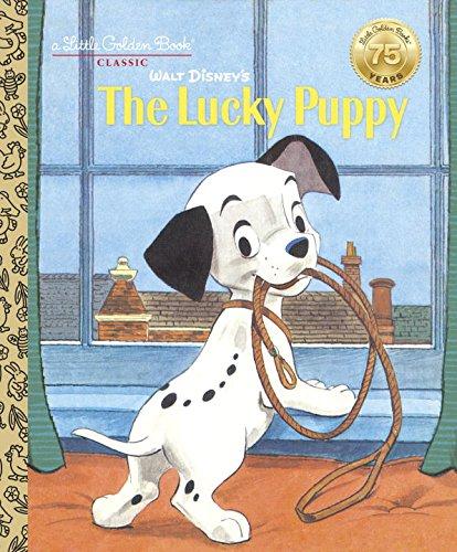 Walt Disney's The Lucky Puppy (Disney Classic) (Little Golden (Lucky Dog Puppy)