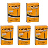 Continental Race 28 700 x 20-25c Bike Inner Tubes - Presta 80mm Long Valve (Pack of 5)