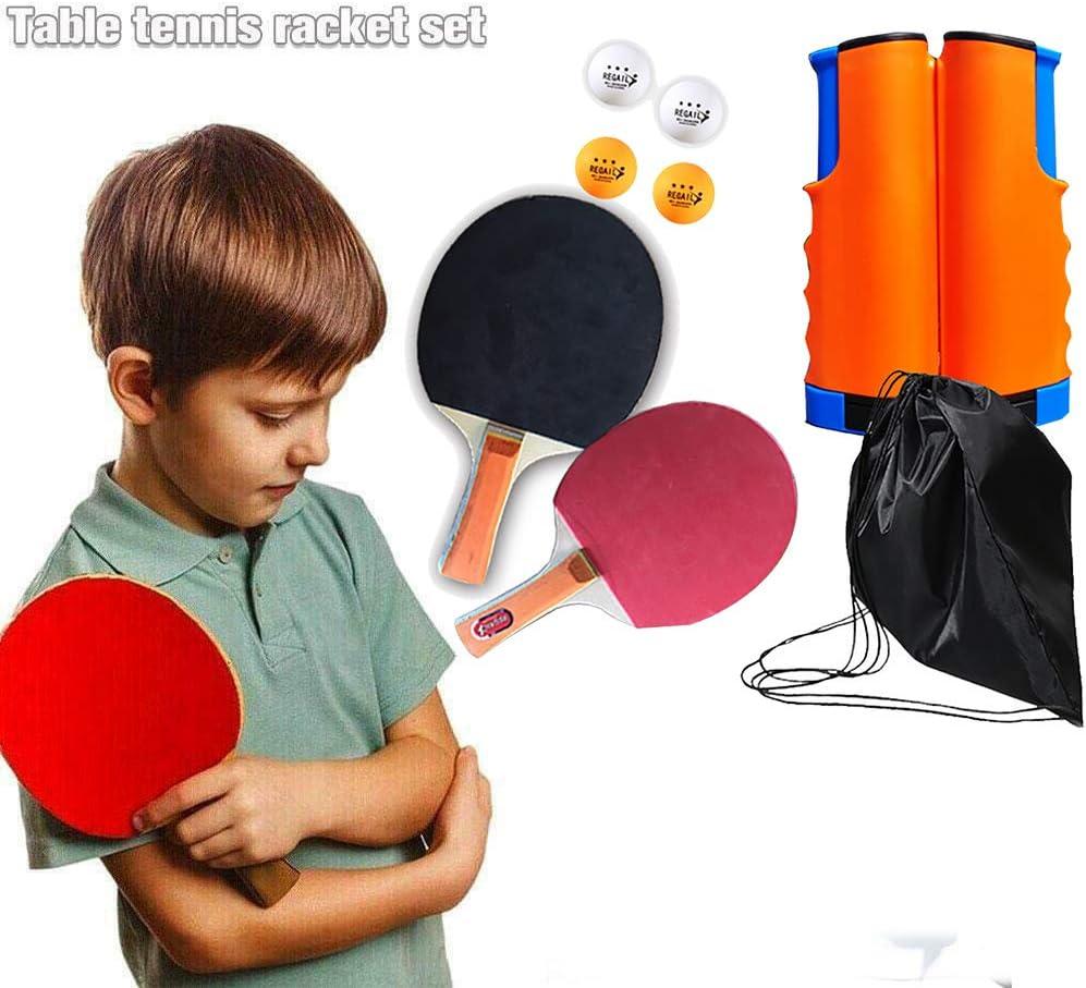 BCQ Juego de Tenis de Mesa, Cancha De Ping Pong Instantánea, Juguetes De Tenis De Mesa para El Hogar, Escuelas, Familias, Clubes Deportivos, Oficinas